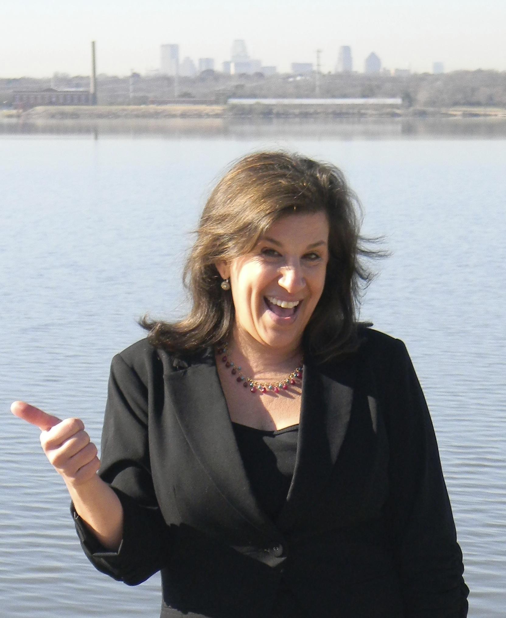Darlene Ellison at White Rock Lake