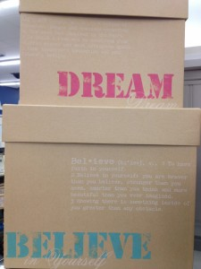 inspirational boxes