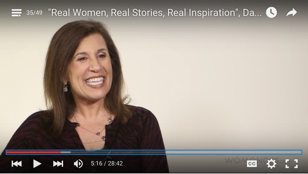 Darlene Ellison's interview on Womanars